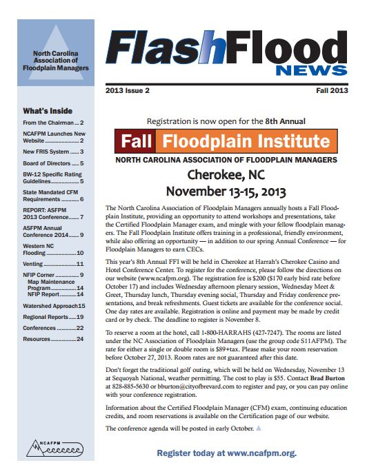 FlashFlood News September 2013