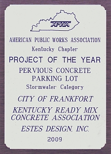 frankfort project of the year
